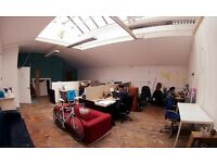 Desk spaces available – shared office in the heart of Bristol