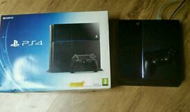 Sony ps4 500gb boxed