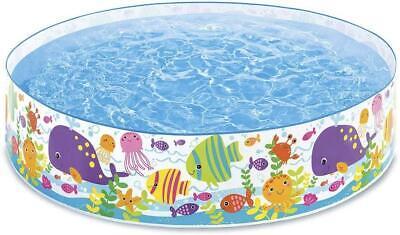 Intex Ocean Play Snapset Kid Inflatable Swimming Paddling Childrens Play Pool