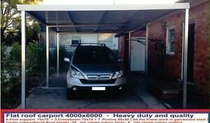 New   flat carport  4 x 6  $1600 or 4 x 9  $ 2300 Ingleburn Campbelltown Area Preview