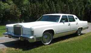 LINCOLN CONTINENTAL TOWN CAR 1978