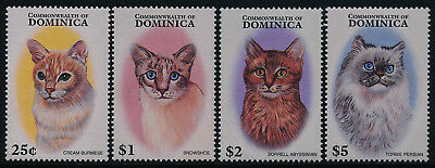 Dominica 1937-40 MNH Cats