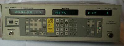 Wavetek 3520 Synthesized Signal Generator 1 Mhz-2200mhz Used