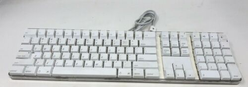 Apple Mac White USB Wired Keyboard  | A1048 | 💎Good Condition💎