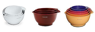 KitchenAid Classic Mixing Bowls, 4 Styles