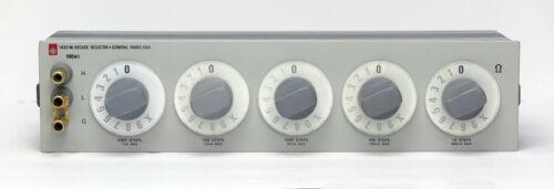 GR General Radio 1433-M 5-Dial Resistor 111,110 ohms 1 ohm/st 0.01% accy 1433M