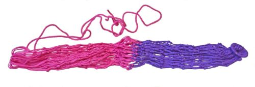 Large Small Hole Slow Feed Hay Bay Purple & Pink