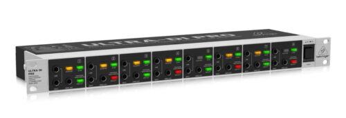 Behringer DI800 V2 Ultra DI Professional Mains/Phantom Powered 8-Channel DI-Box