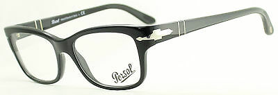 PERSOL 3011-V 95 Black Eyewear FRAMES Glasses RX Optical Eyeglasses Italy - BNIB