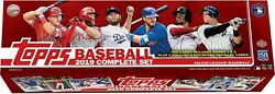 2019 Topps Baseball Factory Sealed Complete Set 700 Cards + 5 Foil cards
