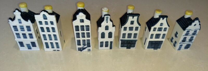 7 KLM Delft Houses