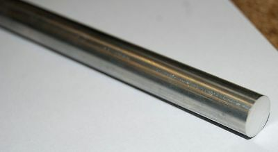 30.5cm / 300MM Largo Aluminio Barra Redonda 1cm Diámetro 2011T6 de Chronos