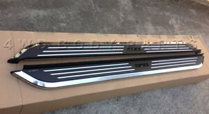 (#125) Holden Colorado 2012 to 2016 Dual Cab Aluminium Running Boards Side Steps