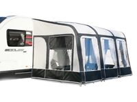Bradcot Modul Air Awning 390 used half dozen times includes electric pump RRP £999
