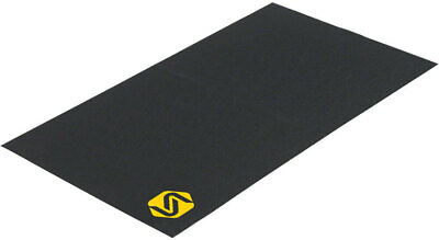 Saris Trainer Mat, Protects Floors From Bike Grime and Sweat
