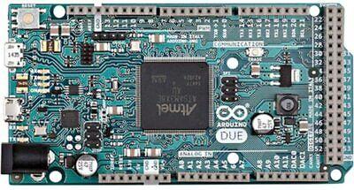 Arduino Due A000062 Microcontroller Board 32bit Core3.3v96kbytes Sram54 Pin