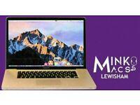 Apple MacBook Pro 15' Core i5 2.4GHz 8GB RAM 1TB HDD Logic Pro X Final Cut Pro Adobe Suite Warranty