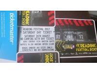 4 reading festival Saturday DAY tickets 2017 EMINEM headlining