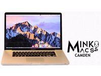 " Quad Core 2Ghz i7 15.4"" Apple Macbook Pro 8gb 500GB HD Logic Pro X Cubase 8 FL Studio 12 Ableton "
