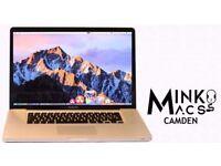 15' APPLE MACBOOK PRO QUAD CORE 2.3Ghz i7 8GB RAM 256GB SSD FINAL CUT PRO X MOTION 6 FINAL DRAFT 10