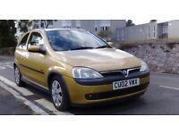 Vauxhall Corsa 1.2 sxi 16v Full 12 months mot