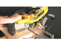 Mitre Saw DeWalt DWS780XPS Double Bevel 305mm 110v