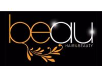 Full head bonded hair extensions by fully qualified hair extensionist's at Beau Hair and Beauty