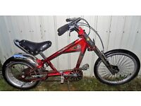 Rare Stingray chopper bike