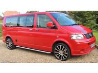 vw t5 camper fully converted (reduced for quick sale)