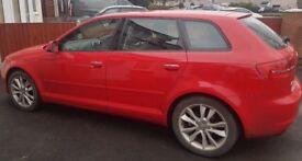 Audi A3, 1.6 TDI Sportback. 2011 (61 Reg) 5 doors.