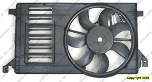 Cooling Fan Assembly Except Mazdaspeed Mazda 3 2010-2013
