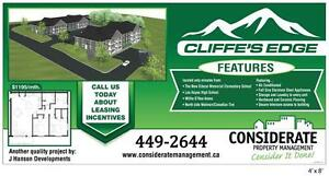 Cliffe's Edge - Brand New! Wheelchair Accessible Avail! 2 Bed