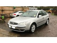 Ford Mondeo LX for sale, MOT, service history, 2 former keepers, drives good.