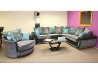 NEW ARRIVAL VEGAS THREE PLUS TWO SOFA SET /CORNER AVAILABLE ney