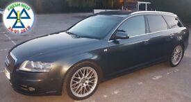 Audi A6 S-Line Quattro 2.7 TDI Avant, Auto * LONG MOT *