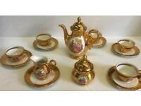 22 karat gold tea set