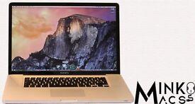 " 15"" Apple MacBook Pro i7 Quad Core 2.3Ghz 8gb 500GB Logic Pro X Cubase Ableton Native Instruments"