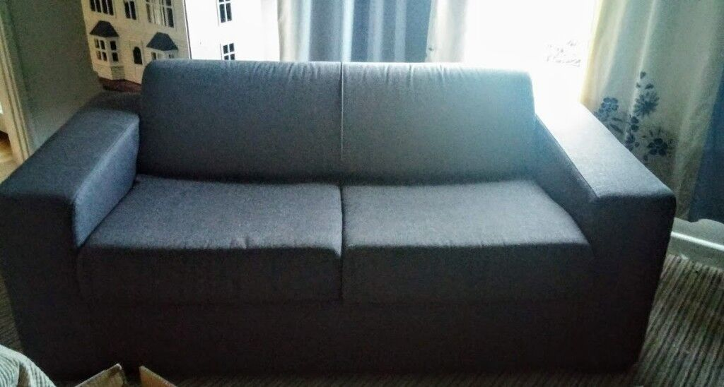 Charcoal Grey Double Sofa Bed From Argos Hygena Ava Collection Good Condition In Saltburn By The Sea North Yorkshire Gumtree