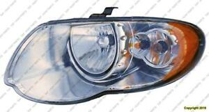 Head Light Driver Side Chrysler Town & Country 2005-2007