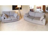 Next Sonoma II Set of Sofas - 3 Seater & 2 Seater - Great Condition