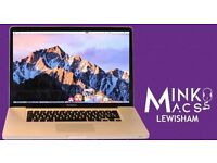 "15.4"" QUAD i7 2GHZ APPLE MACBOOK PRO 8GB 128GB SSD PRO TOOLS CUBASE LOGIC PRO X MASSIVE OFFICE 2016"
