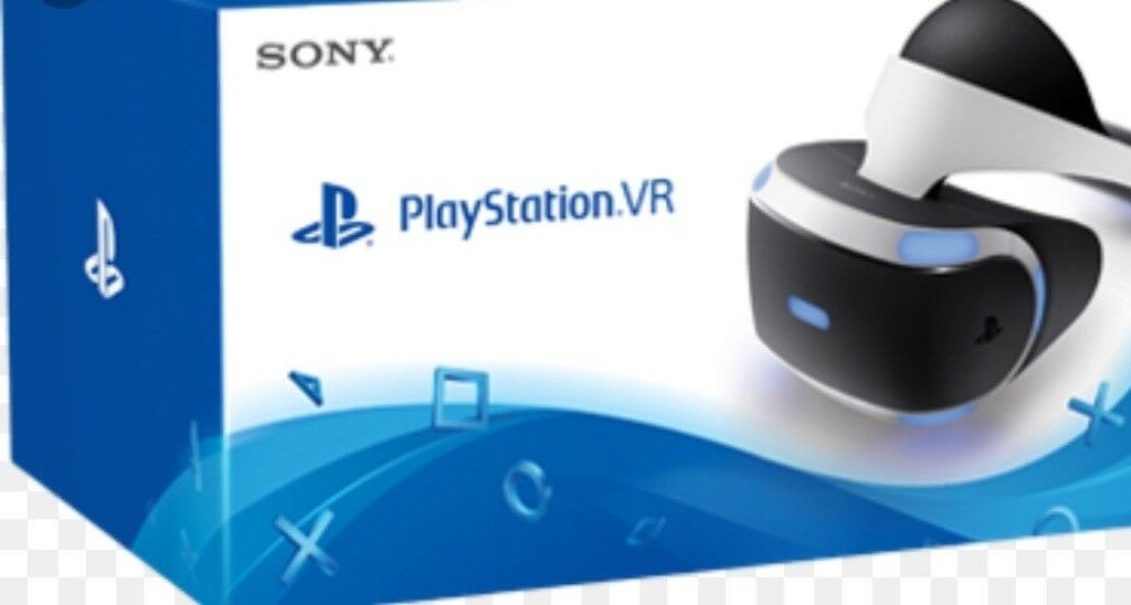 PlayStation VR with camera & games incuded (Vr worlds, brand new resident evil, vr demo)d