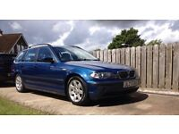 BMW e46 325i auto touring estate (not lexus jaguar bmw jeep mercedes) MOT until July 2017