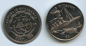 G3052 - Liberia 5 Dollars 1998 RMS Titanic Untergang des Luxusdampfers - <span itemprop=availableAtOrFrom>Großgmain, Österreich</span> - Widerrufsbelehrung: Widerrufsrecht Sie haben das Recht, binnen eines Monats ohne Angabe von Gründen diesen Vertrag zu widerrufen. Die Widerrufsfrist beträgt vierzehn Tage ab dem Tag, an - Großgmain, Österreich