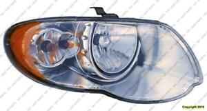 Head Light Passenger Side High Quality Chrysler Town & Country 2005-2007