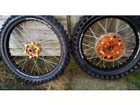 Ktm/husqavana sm pro wheels