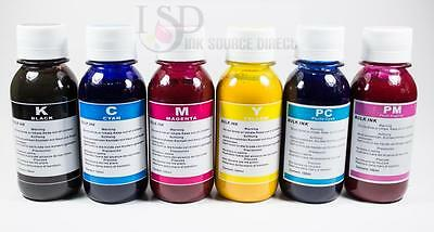 6x100ml High Quality Sublimation Ink Forl Epson Printers