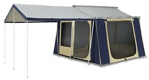 New Unused Oz Trail 10x8 Cabin Tent Canvas As New Mansfield Brisbane South East Preview