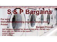 Dishwasher Washing machine Dryer Oven Printer - Bargain prices !