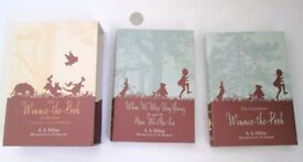 The Winnie The Pooh Book Collection Complete And Unabridged AA Milne 2 Volumes